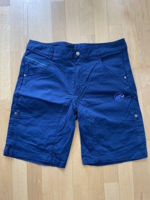 Mammut Pantaloncino sport blu-blu scuro