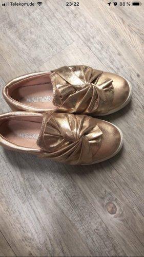Slip-on Shoes rose-gold-coloured