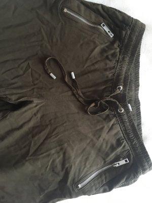 H&M Divided Spodnie khaki khaki