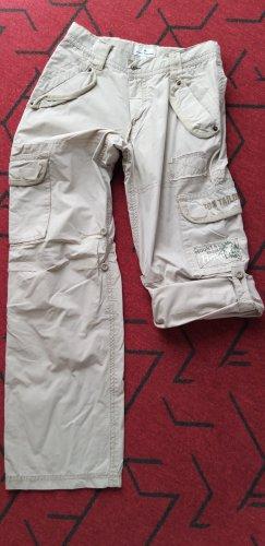Tom Tailor Pantalon cargo beige clair