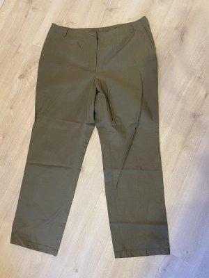 Spodnie khaki szaro-brązowy
