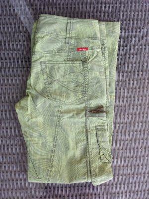 Mexx Pantalon vert gazon-gris vert