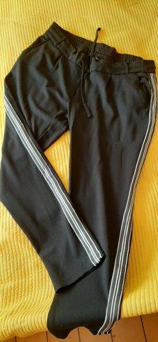 Blue Motion Pantalon de jogging blanc-noir