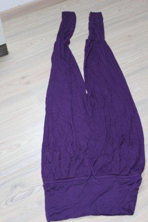 Crivit Pantalón estilo Harem violeta oscuro-lila Viscosa