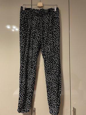 Broadway Pantalone alla turca nero-bianco