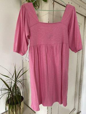 Asos Sukienka typu babydoll różowy-różowy neonowy