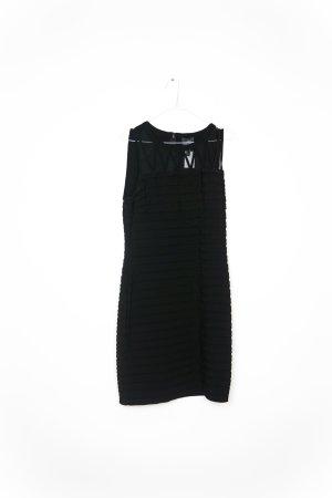 Adrianna Papell Vestido a media pierna negro