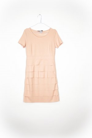 Ashley Brooke Midi Dress dusky pink
