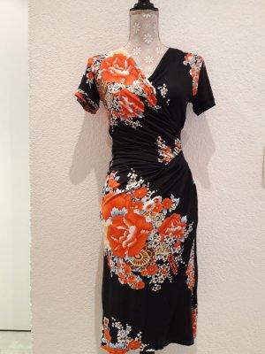 Bea Tricia Stretch Dress black-red