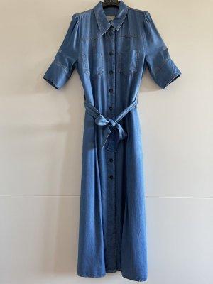 Marella Summer Dress cornflower blue lyocell