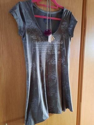 Soxxc Sukienka dresowa khaki