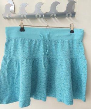 Blind Date Broomstick Skirt light blue