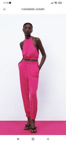 Zara Ladies' Suit raspberry-red