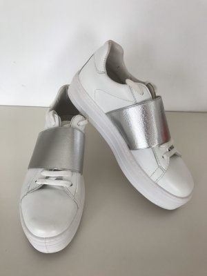 River Island High Top Sneaker white-silver-colored