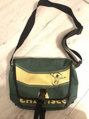 Chiemsee Crossbody bag yellow-dark green