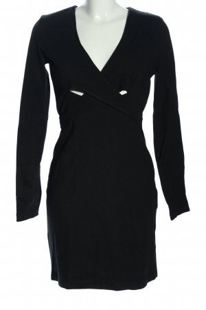 French Connection A-Linien Kleid schwarz Casual-Look