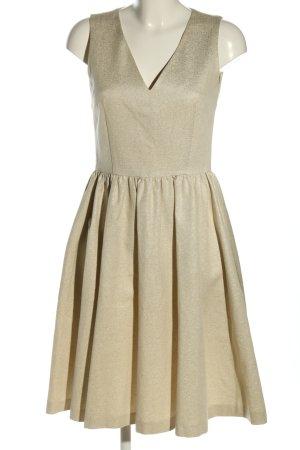 French Connection A-Linien Kleid goldfarben Elegant