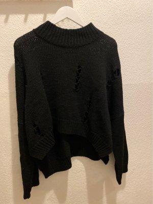 French Connection Sweter z dzianiny czarny