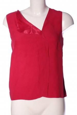 French Connection ärmellose Bluse rot Casual-Look