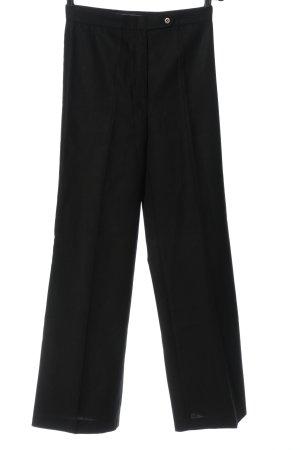 French Connection Pantalone da abito nero puntinato stile casual