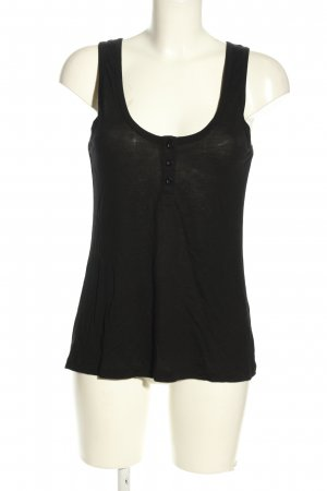 French Connection Basic Top schwarz Casual-Look