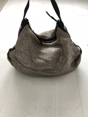 French Connection Beuteltasche Shopper Tasche Silber metallic
