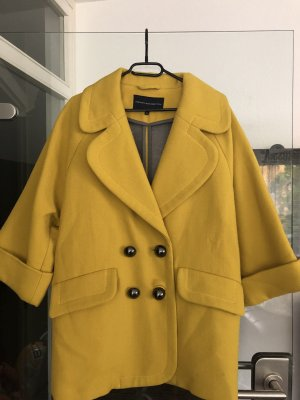 French Connection Blazer en laine jaune citron vert