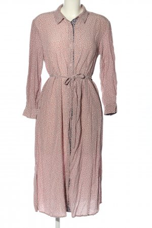 French Connection Blusenkleid pink-weiß Blumenmuster Casual-Look