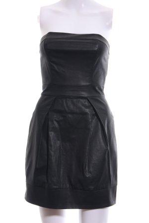 French Connection Vestido bustier negro estilo «business»