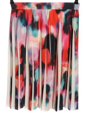 French Connection Rozkloszowana spódnica Abstrakcyjny wzór W stylu casual