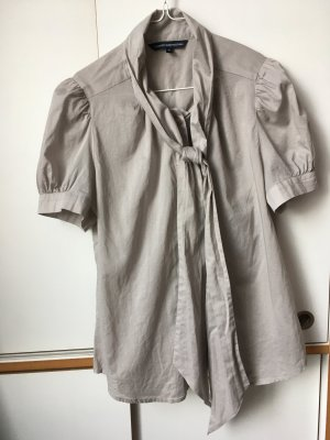 French Connection Blouse avec noeuds gris clair