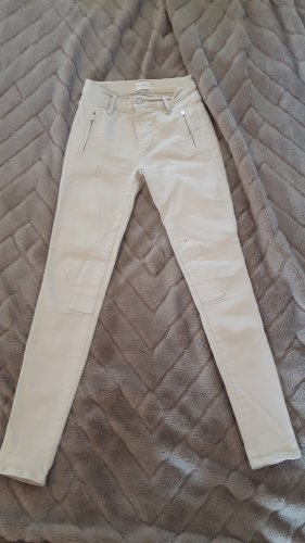 French Connection Skinny jeans licht beige-room