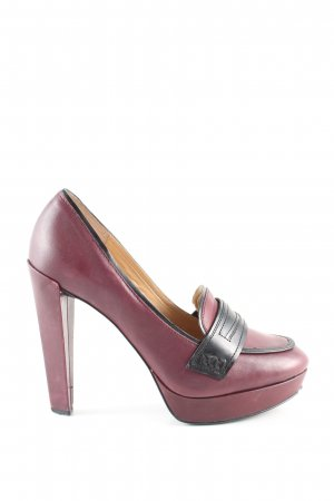 French Connection High Heels rot Casual-Look