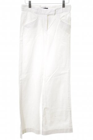 French Connection High Waist Trousers white business style