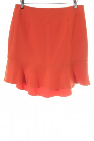 French Connection High Waist Rock dunkelorange Casual-Look