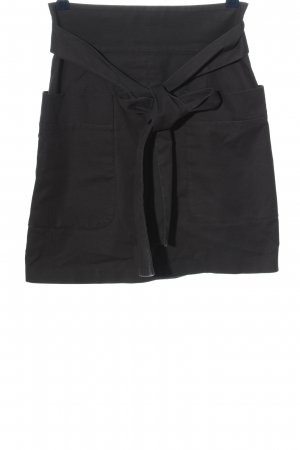 French Connection High Waist Rock schwarz Casual-Look