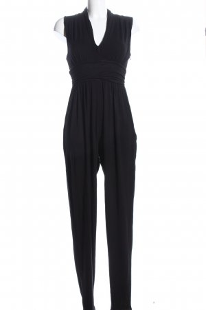 French Connection Jumpsuit schwarz meliert Casual-Look