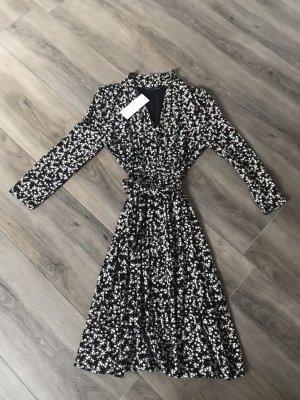french connection Kleid schwarz-weiß
