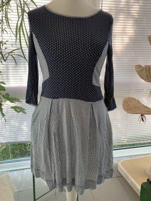 French Connection Kleid Skaterkleid Taschen UK 14 40