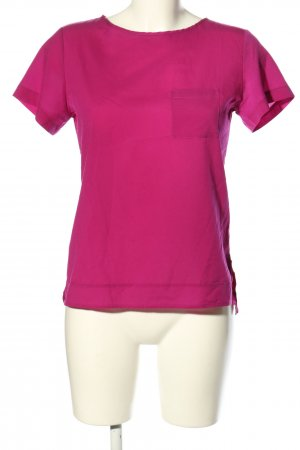 French Connection Kurzarm-Bluse pink Casual-Look