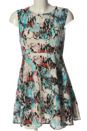 French Connection Sukienka z krótkim rękawem Wielokolorowy W stylu casual
