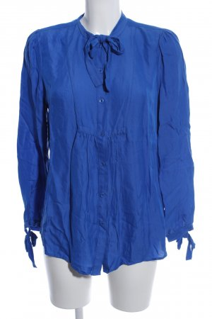 French Connection Langarm-Bluse blau Business-Look