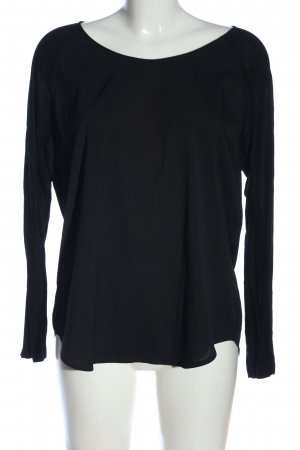 French Connection Langarm-Bluse schwarz Casual-Look