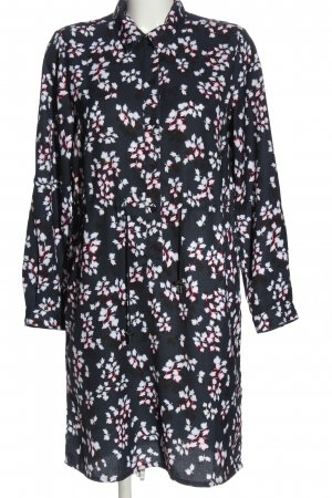 French Connection Langarmkleid Allover-Druck Casual-Look