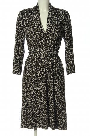 French Connection Longsleeve Dress black-natural white allover print casual look