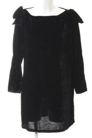 French Connection Langarmkleid schwarz klassischer Stil