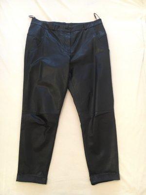 French Connection Pantalón de cuero negro
