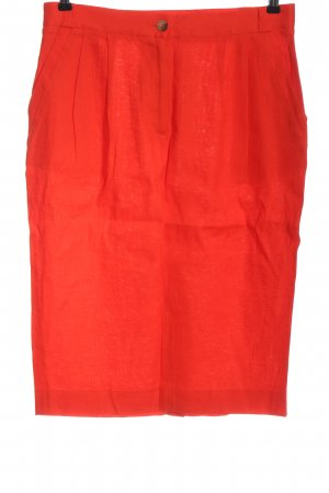 French Connection Linen Skirt red casual look