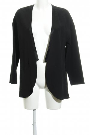 French Connection Long-Blazer schwarz Business-Look