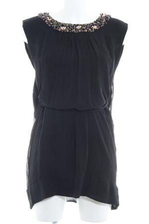 French Connection Long-Bluse schwarz Elegant